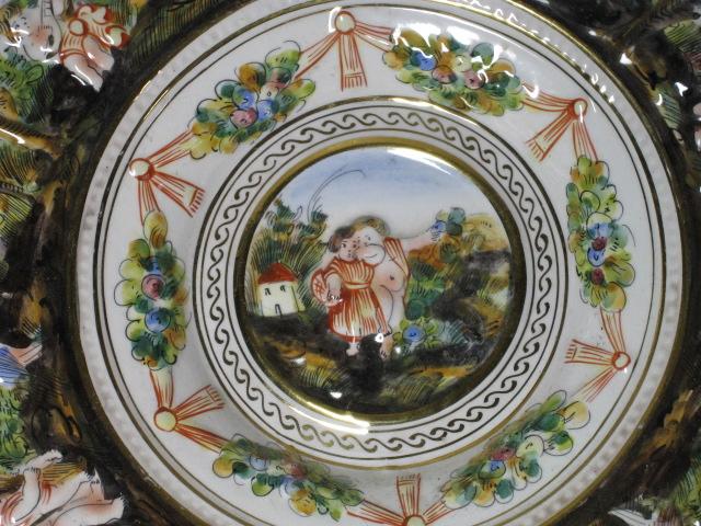 西洋陶器・カプティモンテ窯・イタリア